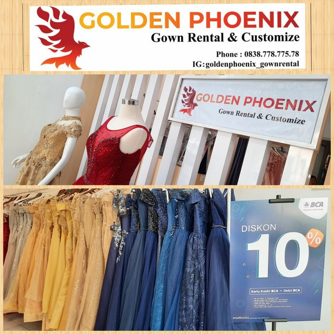 Sewa Gaun Dress Mama Sister Prewedding by Golden Phoenix Rent Gown - 023