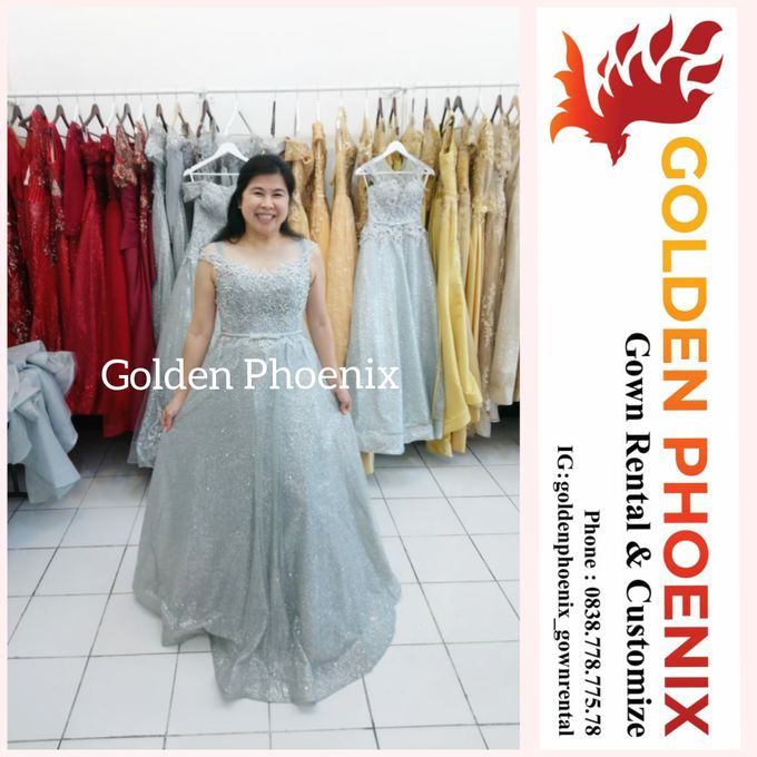Sewa Gaun Dress Mama Sister Prewedding by Golden Phoenix Rent Gown - 022