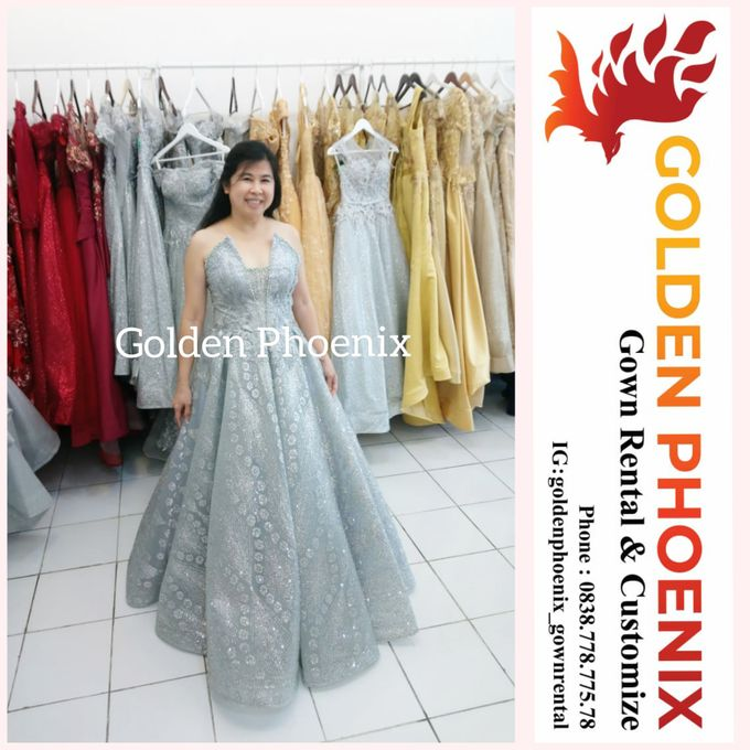 Sewa Gaun Dress Mama Sister Prewedding by Golden Phoenix Rent Gown - 024
