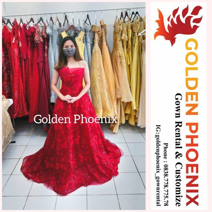 Sewa Gaun Dress Mama Sister Prewedding by Golden Phoenix Rent Gown - 017