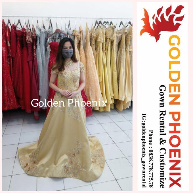 Sewa Gaun Dress Mama Sister Prewedding by Golden Phoenix Rent Gown - 021