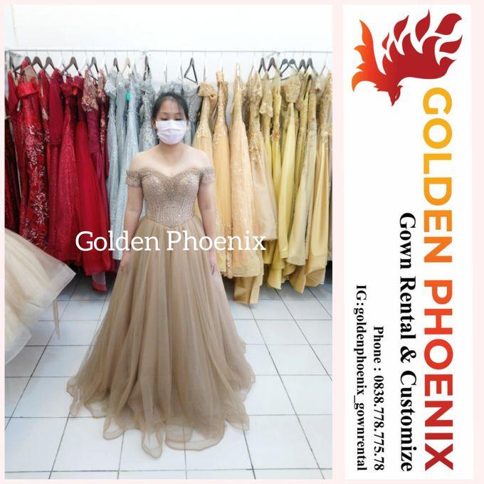 Sewa Gaun Dress Mama Sister Prewedding by Golden Phoenix Rent Gown - 019