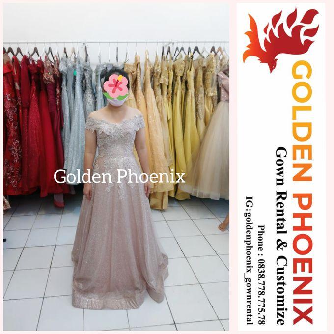 Sewa Gaun Dress Mama Sister Prewedding by Golden Phoenix Rent Gown - 015