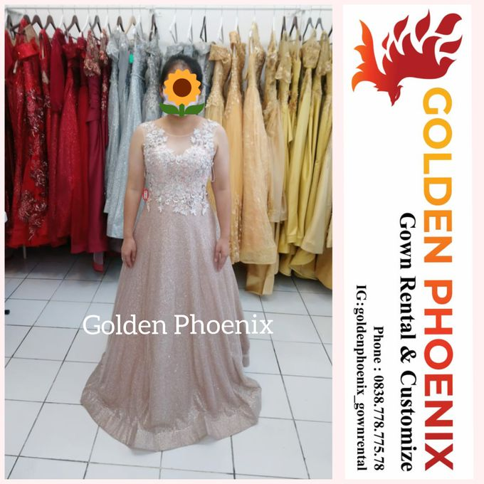 Sewa Gaun Dress Mama Sister Prewedding by Golden Phoenix Rent Gown - 018