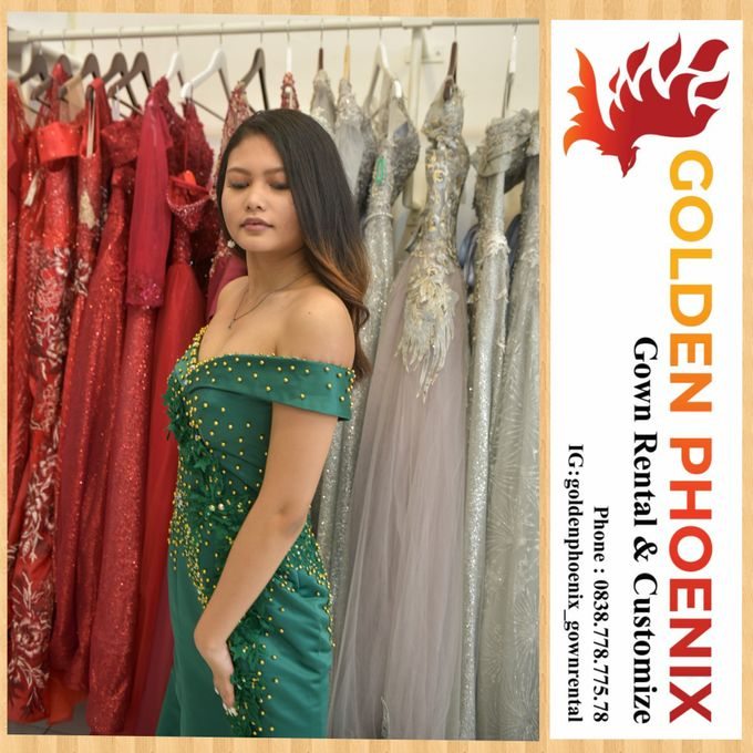 Sewa Gaun Dress Mama Sister Prewedding by Golden Phoenix Rent Gown - 020