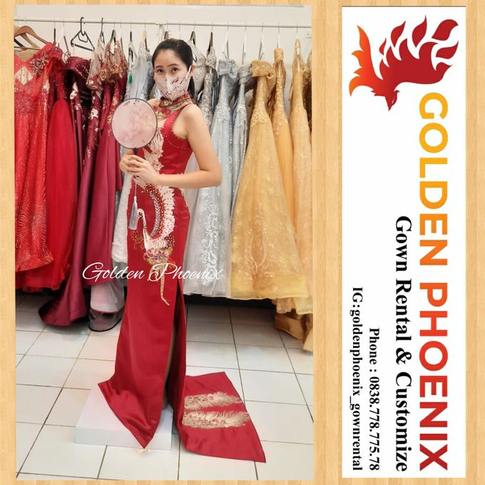 Golden Phoenix Sangjit / Engagement Dress Gaun by Golden Phoenix Rent Gown - 008
