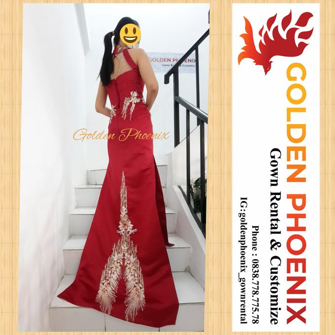 Golden Phoenix Sangjit / Engagement Dress Gaun by Golden Phoenix Rent Gown - 007