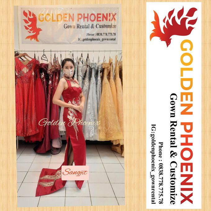 Golden Phoenix Sangjit / Engagement Dress Gaun by Golden Phoenix Rent Gown - 005