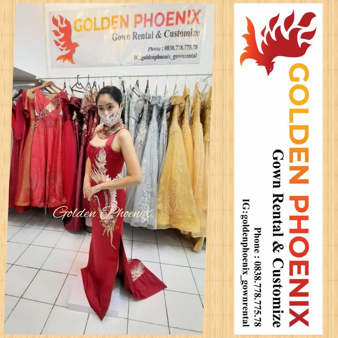 Golden Phoenix Sangjit / Engagement Dress Gaun by Golden Phoenix Rent Gown - 006