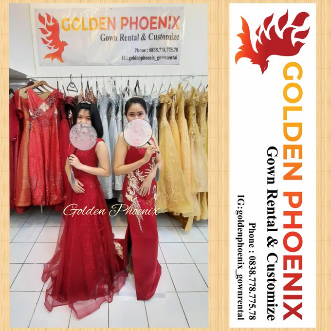 Golden Phoenix Sangjit / Engagement Dress Gaun by Golden Phoenix Rent Gown - 004