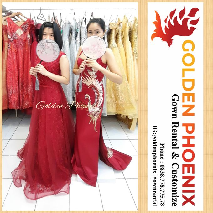 Golden Phoenix Sangjit / Engagement Dress Gaun by Golden Phoenix Rent Gown - 003