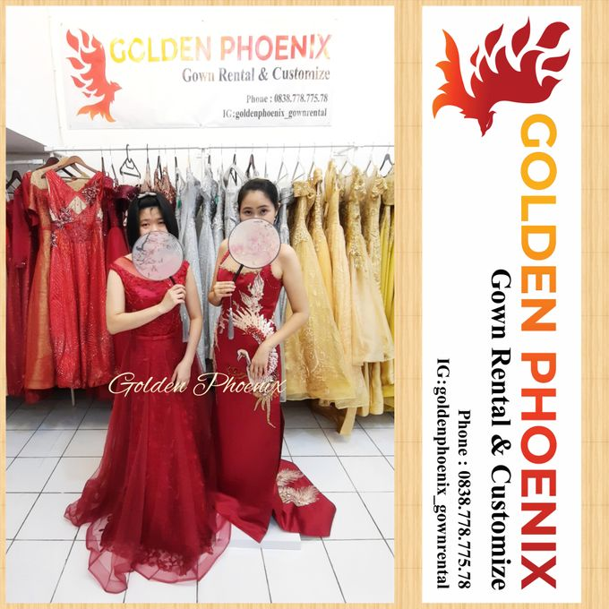 Golden Phoenix Sangjit / Engagement Dress Gaun by Golden Phoenix Rent Gown - 002