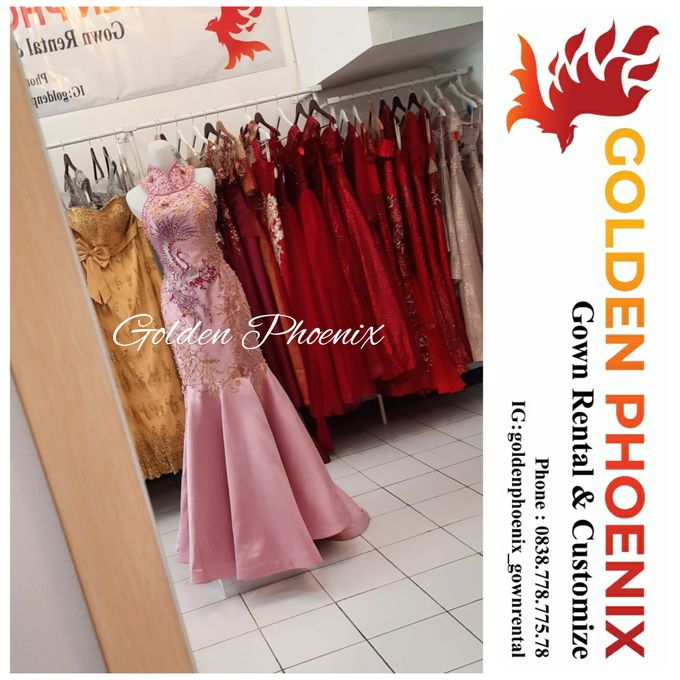 Cheongsam Qipao DRESS Sewa Gaun GownSangjit Teapai by Golden Phoenix Rent Gown - 001