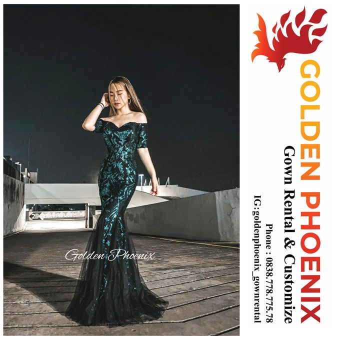 Beauty GOWN by Golden Phoenix Rent Gown - 005