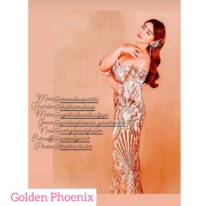 Beauty GOWN by Golden Phoenix Rent Gown - 007