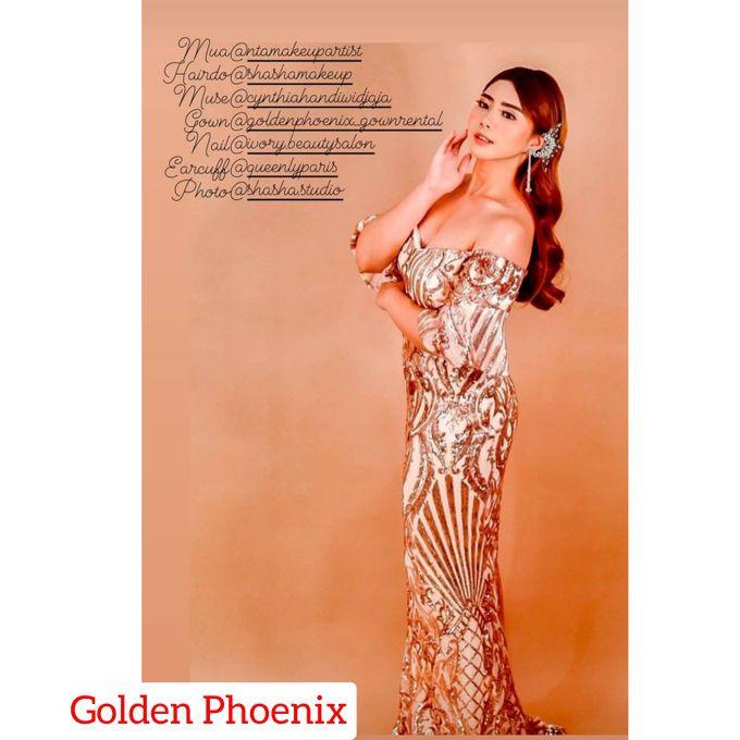 Beauty GOWN by Golden Phoenix Rent Gown - 006