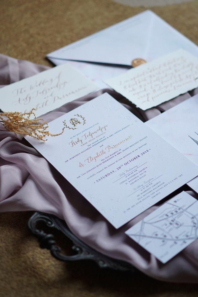 Ardy & Elizabeth by Meltiq Invitation - 001