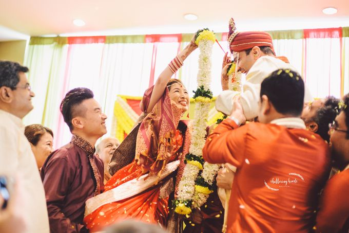 Chinese & Indian Wedding: Sagan & Evelyn by Shuttering Hearts - 024