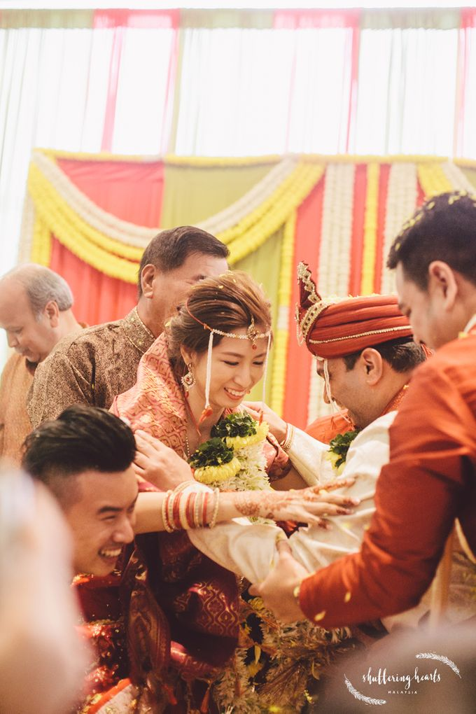 Chinese & Indian Wedding: Sagan & Evelyn by Shuttering Hearts - 025