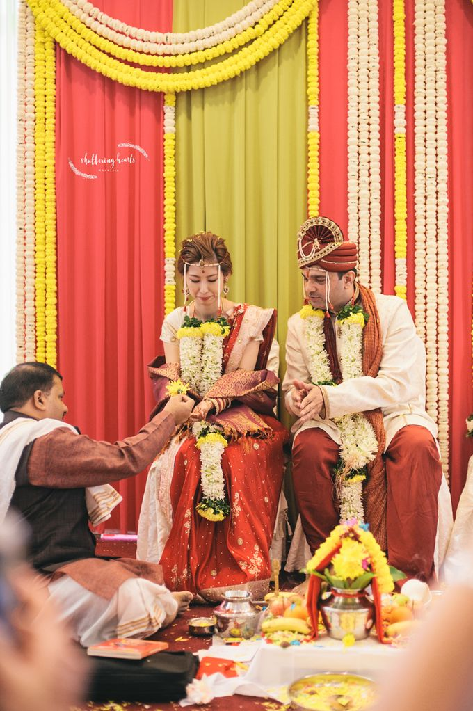 Chinese & Indian Wedding: Sagan & Evelyn by Shuttering Hearts - 026