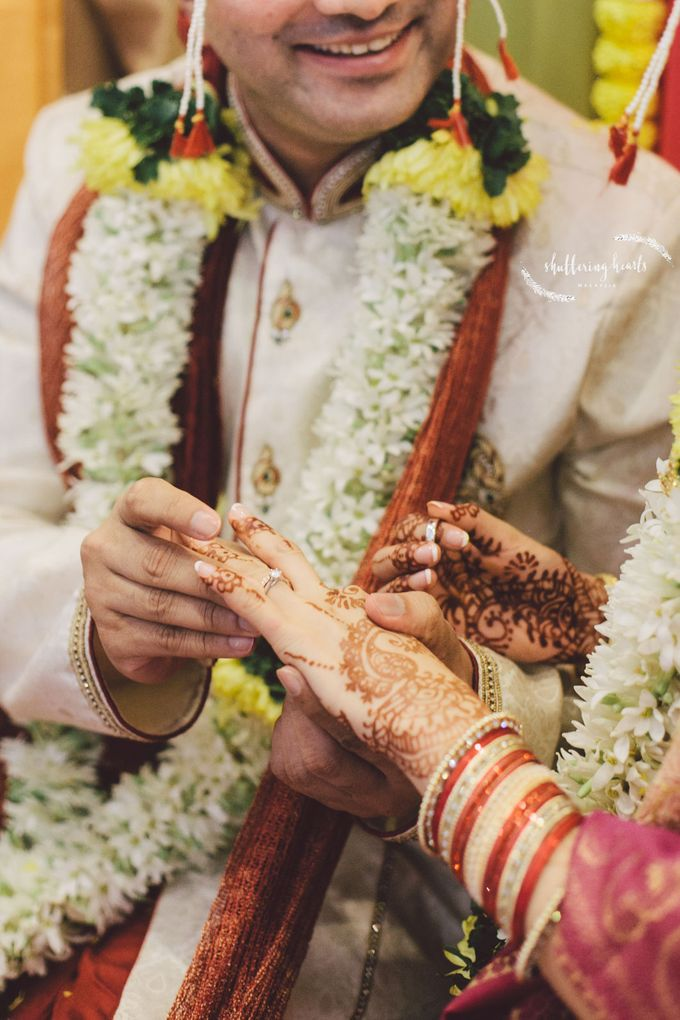 Chinese & Indian Wedding: Sagan & Evelyn by Shuttering Hearts - 020