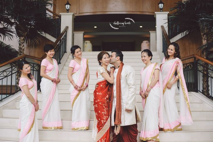 Chinese & Indian Wedding: Sagan & Evelyn by Shuttering Hearts - 018