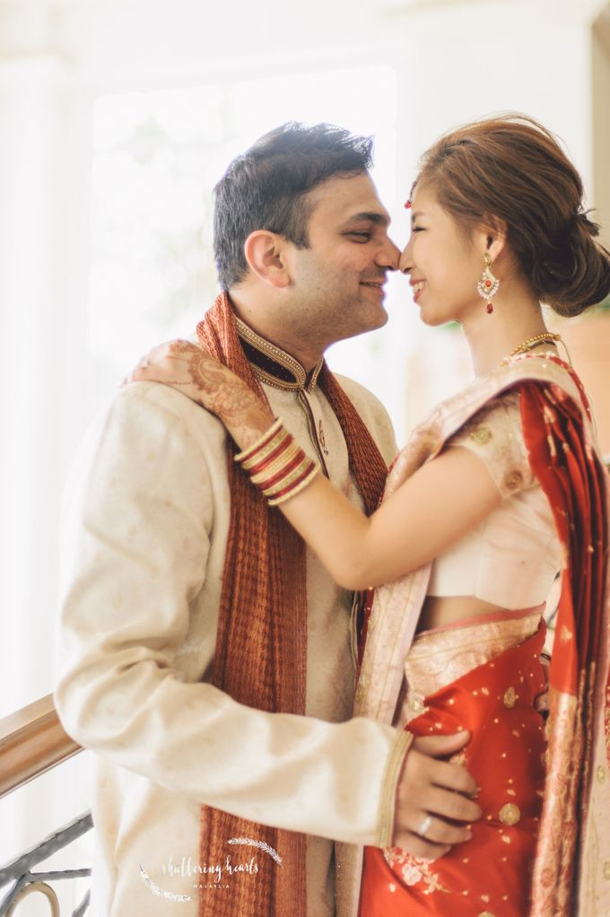 Chinese & Indian Wedding: Sagan & Evelyn by Shuttering Hearts - 017