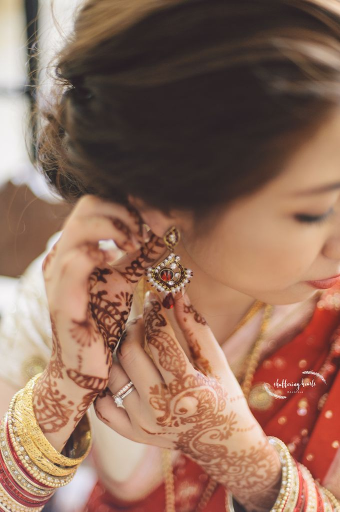 Chinese & Indian Wedding: Sagan & Evelyn by Shuttering Hearts - 015