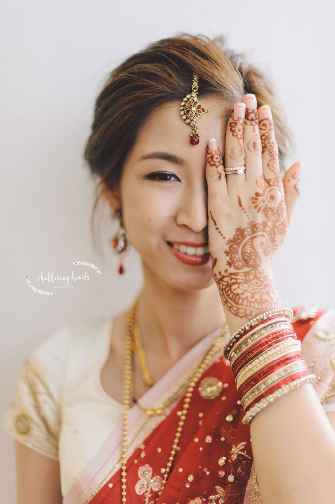 Chinese & Indian Wedding: Sagan & Evelyn by Shuttering Hearts - 016