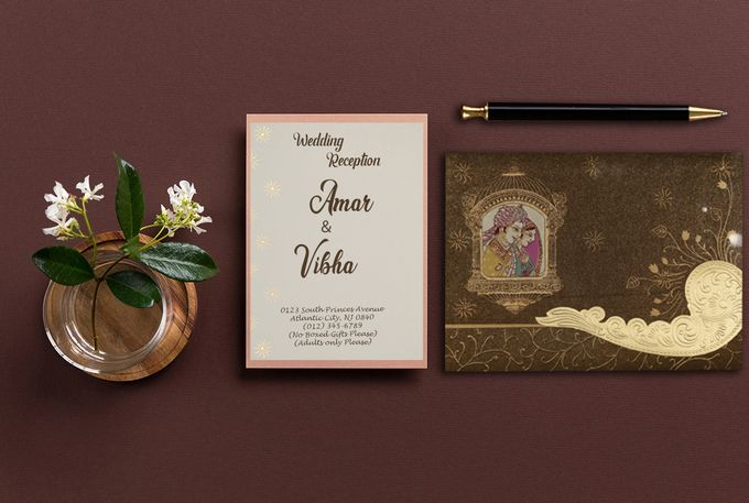 Flat 40 Percent of On Invitatons by IndianWeddingCards - 003