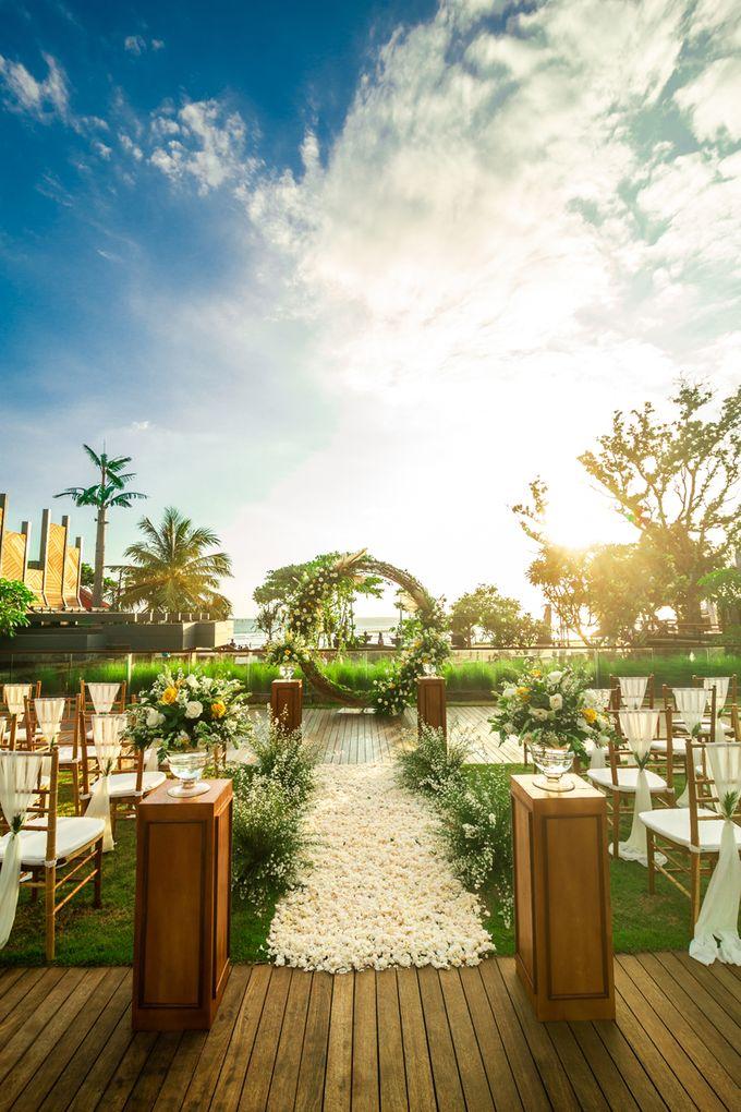 Wedding Setup by Hotel Indigo Bali Seminyak Beach - 006