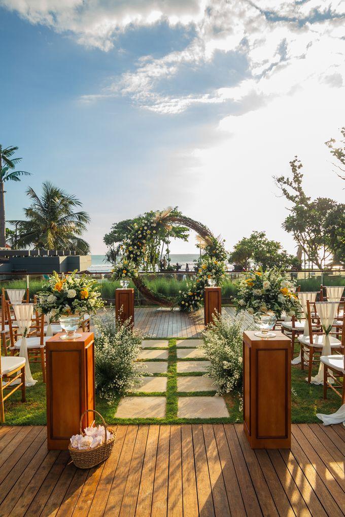 Wedding Setup by Hotel Indigo Bali Seminyak Beach - 009