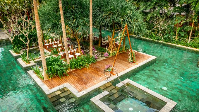 Wedding Setup by Hotel Indigo Bali Seminyak Beach - 011
