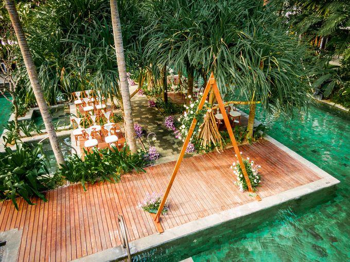 Wedding Setup by Hotel Indigo Bali Seminyak Beach - 012