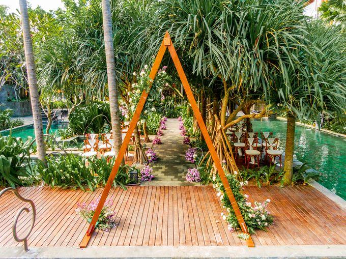Wedding Setup by Hotel Indigo Bali Seminyak Beach - 013
