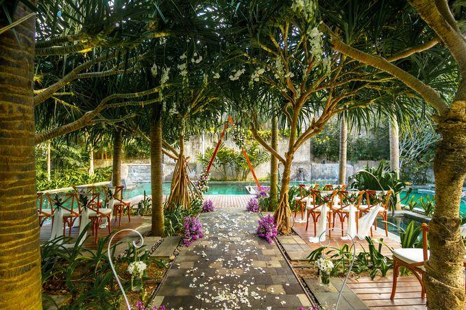 Wedding Setup by Hotel Indigo Bali Seminyak Beach - 001