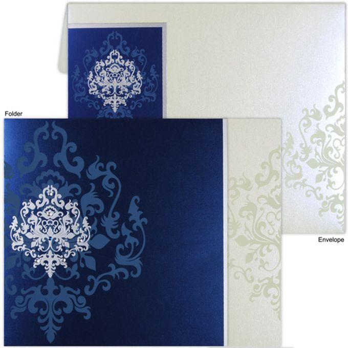 Designer Wedding invitations by A2zWeddingcards - 001