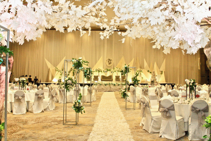 Decky & Christine At Novotel Hotel Tangerang by indodecor - 002