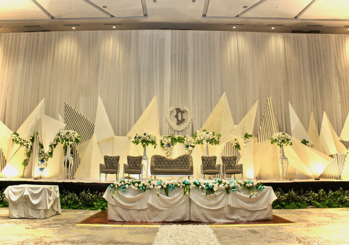 Decky & Christine At Novotel Hotel Tangerang by indodecor - 003