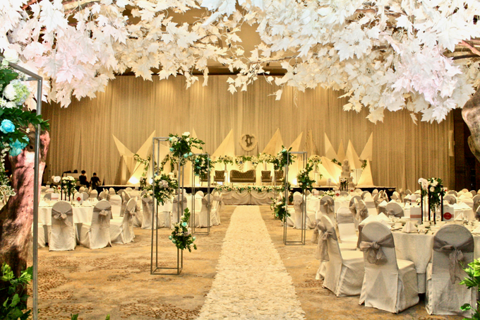 Decky & Christine At Novotel Hotel Tangerang by indodecor - 006