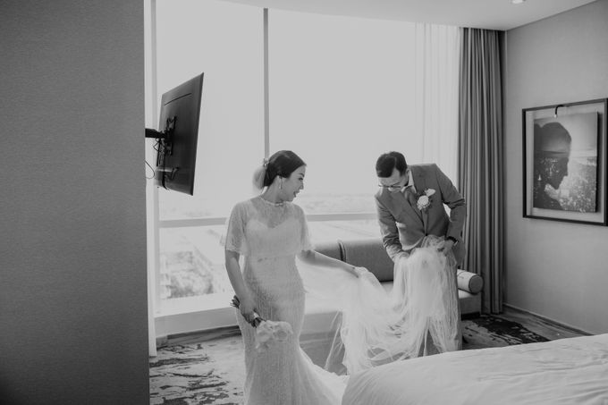 Indra & Yessika Wedding by AKSA Creative - 021