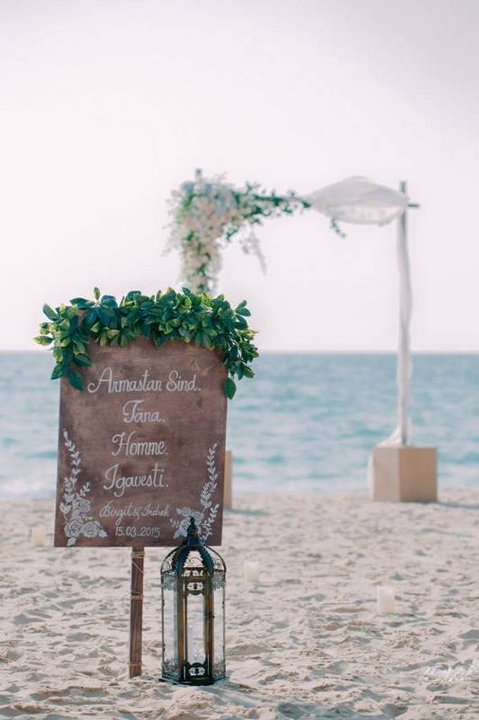 Brigit & Indrek by The Bridal Planner Thailand - 002