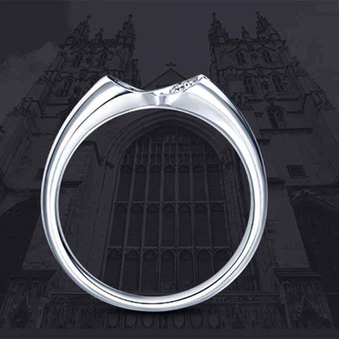 Tiaria Infinity Stare Diamond Ring Perhiasan Cincin Pernikahan Emas dan Berlian by TIARIA - 004