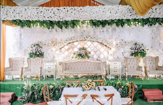 White silver tray for wedding IIn by Inikreasiku - 015