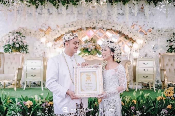 White silver tray for wedding IIn by Inikreasiku - 013