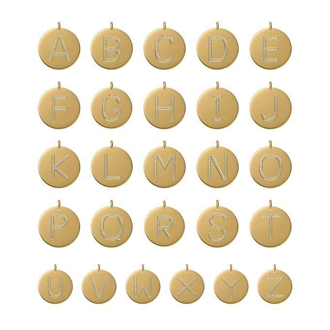 Alphabet Diamond Pendant by Mirage Jeweler - 004