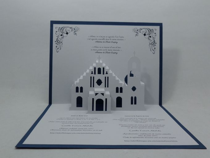 Pop Up Church Invitation by Pop Up Occasions - 003
