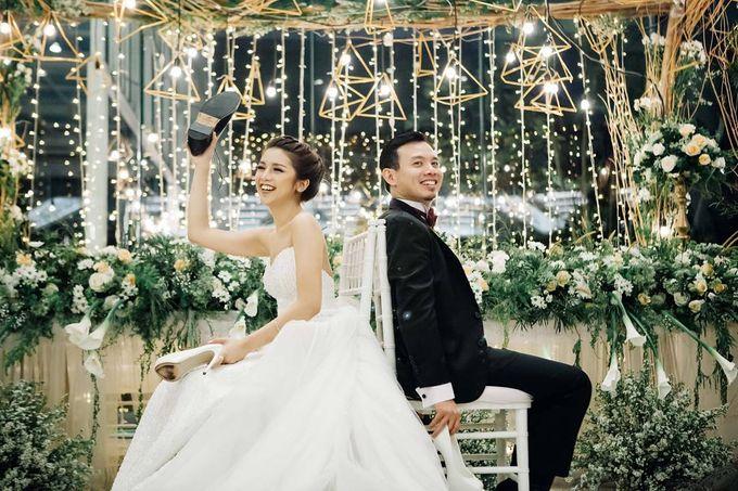 Antony & Fitri Wedding by Catalina Flora - 002