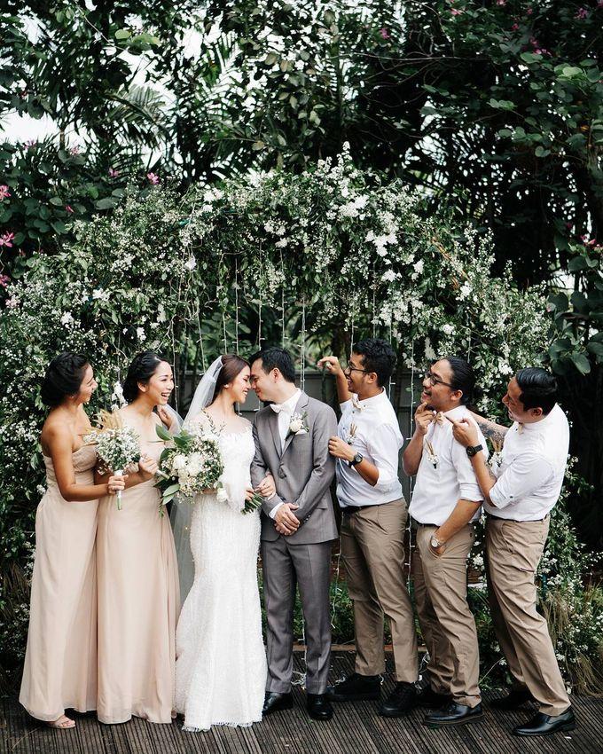 Antony & Fitri Wedding by Catalina Flora - 004