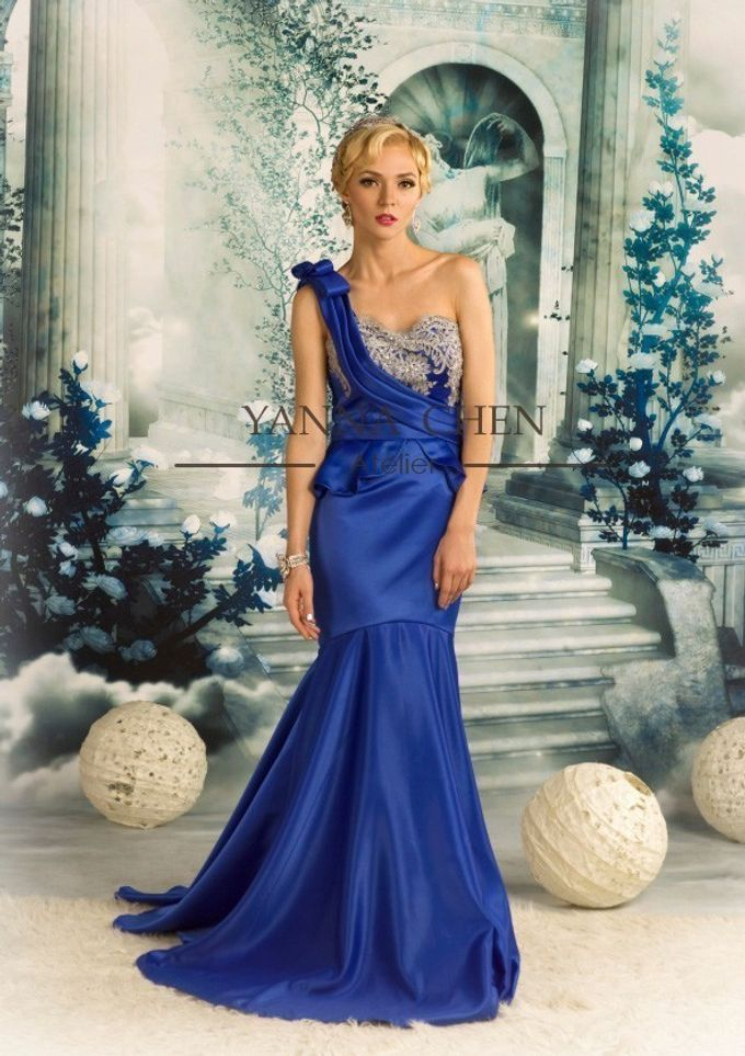 Engagement/ evening gown by YANNA CHEN ATELIER - 002